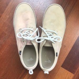Sanuk Men's Canvas Shoes, Size 13